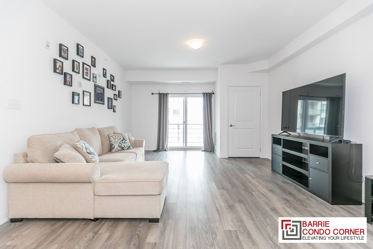 SOLD OVER ASKING - Very Spacious 1 Bedroom in The Gallery Condos