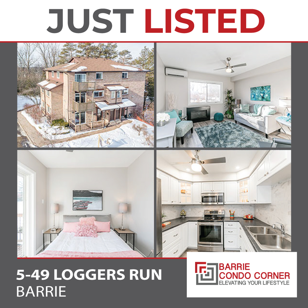 SOLD OVER ASKING - 49 Loggers Run #5, Barrie