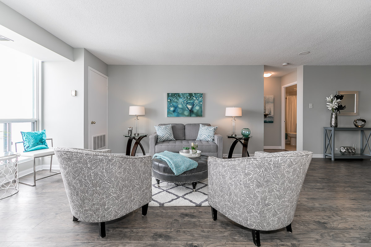 SOLD OVER ASKING -Stunning 1+Den Condo with Unobstructed Water View